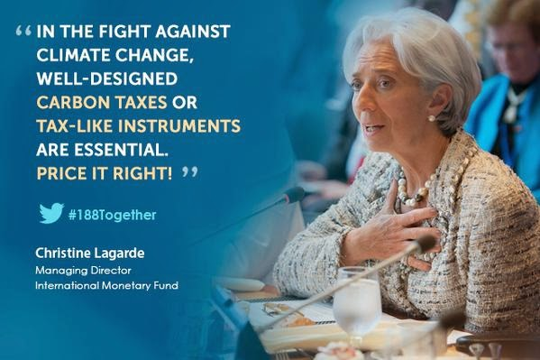 IMF Lagarde on the fight against climate change. #GlobalCitizens #GlobalCitizensEarthDay